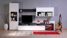 Perfect Design for TV Units in A Small Space
