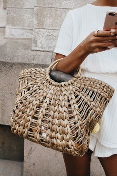 need a straw bag for spring