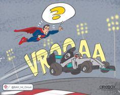 Faster than Superman - Hamilton qualifying at Bahrain!