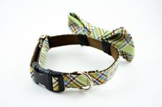 DIY BOWTIE DOG COLLAR...use the other site and just slip on a bow tie! Perfect for those dressy events Charlie will be attending ;)