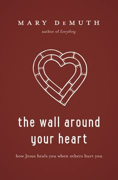 The Wall Around Your Heart. Encouraging Book by Mary Demuth that helps equip you when others have hurt you
