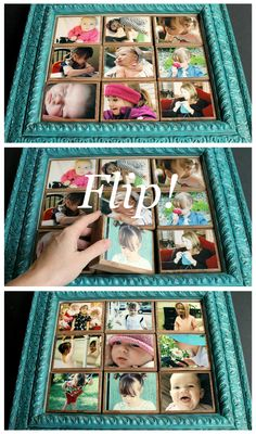 Brag Blocks make a great Mother's Day gift—Grandma will flip over them ! (from A Jennuine Life)