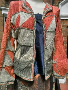 Mitre Knitted Jacket Pattern