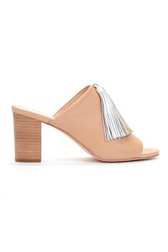 Loeffler Randall's napa leather mule. [Photo: Courtesy]