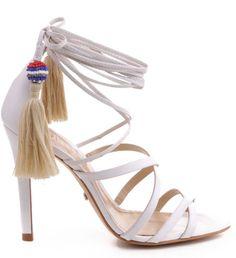 #Kitty #strappyheels #schutz #schutzshoes #tassels
