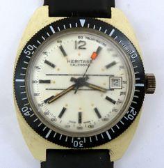 Heritage Vintage Swiss Diver Watch