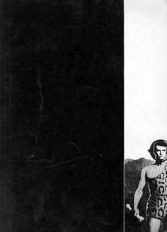 L'ATTICO, Ginnastica mentale. Roma, Galleria l'Attico, 1968. Catalogo della performance alla Galleria L'Attico di Roma organizzata dal gallerista Fabio Sargentini. Foto in nero dell'evento a piena e doppia pagina di Luca Patella e Mario Cresci