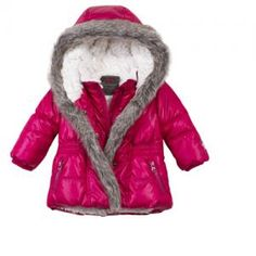 #CATIMINI #monpetitchild FUCHSIA DOWN JACKET
