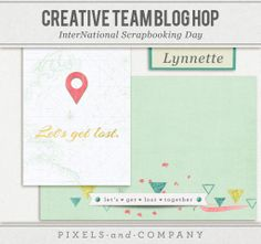 FREE iNSD 2014 Pixels & Company - Creative Team Bloghop [ more than 20 designers ]