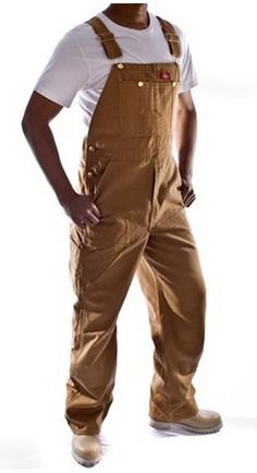 Men's regular fit Work Bib Overalls from Dickies USA. Bib And Brace Overalls, Work Overalls, Denim Overalls, Salopette Carhartt, Salopette Jeans, Men's Dungarees, Jeans Marron, Jeans Bleu, Vest Coat