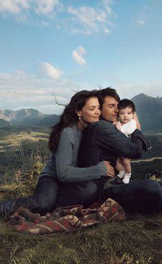 Tom Cruise, Katie Holmes & daughter Suri