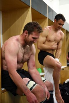 Dan Carter & Kieran Read - All Blacks - Rugby