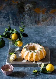 Lemon & Rosemary Bundt Cake