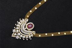 Indian Jewellery and Clothing: Beautiful diamond necklaces from vasundhara online jewellery..
