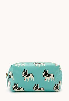 French Bulldog Cosmetic Pouch | FOREVER21 - 1047904808 ($6.00) - Svpply https://svpply.com/item/3201212/French_Bulldog_Cosmetic_Pouch