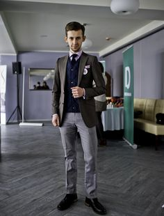 suit quilted vest