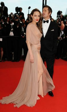 #redcarpet #evening #drees #Jolie #Pitt