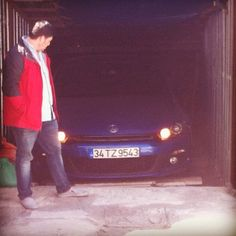 Volkswagen Scirocco blue blueoflove garage car orange daylight turkiye tüekiye turkeycar cars bluecars