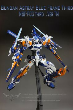 GUNDAM GUY: Gundam Astray Blue Frame Ver. TM - Customized Build