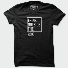 T-shirt Think Outside Homme