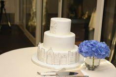 city themed cake