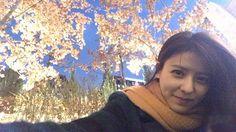 . まるで桜みたいだねー🌸 마치 벗꽃인것처럼....🌸 Looks like cherry blossom...🌸 #韓国#한국#Korea#ソウル#서울#Seoul#selfie##셀카#셀스타그램