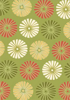 Daisies Green Rug from the Outdoor Rugs collection at Modern Area Rugs  7. Fab flooring or rug  #organizedliving #organizedcloset