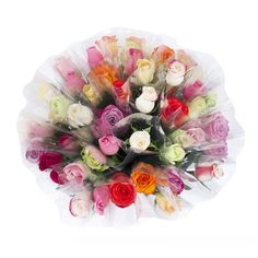 Single Roses, Assorted Colors (150 stems) - Sam's Club
