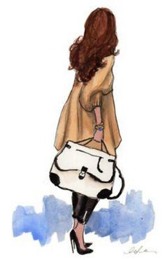 Illustrations fashion illustrations and on summer on pinterest