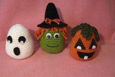 Easy Halloween Crochet Trio free crochet pattern