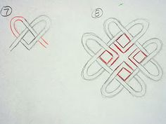 step-by-step how to draw Celtic knots! This is GREAT!!!!