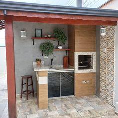 Home Design Decor, House Design, Patio Design, Outdoor Dining, Outdoor Patios, Outdoor Rooms, Backyard Patio, Kitchen Remodel, Kitchen Design