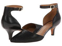 Clarks Sage Glamor Shingle Grey Snake Leather - 6pm.com black heels,kitten heels,black kitten heels,