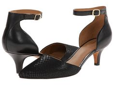 Clarks Sage Glamor Shingle Grey Snake Leather - 6pm.com black heels,kitten heels,black kitten heels,
