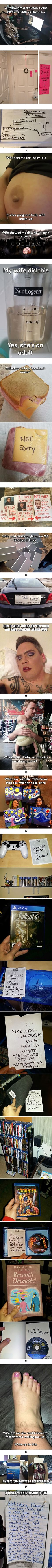 Hilarious wives