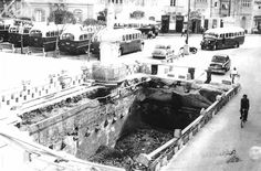 Malta underground 1964 courtesy of Raymond Vella.This is a water reserviour infront of Zejtun Church which callapsed