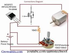 How to Make an Universal DC Motor Speed ​​Controller - Controller DC Motor Spe .How to Make an Universal DC Motor Speed ​​Controller - Controller DC Motor Speed Cool DIY Gadgets You Can Make Electronics Projects, Electronic Circuit Projects, Hobby Electronics, Electronics Components, Electronic Engineering, Arduino Projects, Electrical Engineering, Electronics Gadgets, Diy Projects