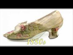 Stylish Shoes ~ 1700s-1940s - YouTube