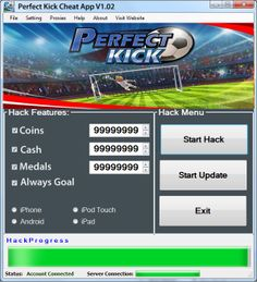 Perfect Kick Cheats and Hack for Android and iOS - http://risehack.com/perfect-kick-cheats-and-hack-for-android-and-ios/