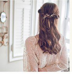 2016 Tree Clip Fashion Novel Designer Vintage Metal Branches Hairpins for Women Wedding Hair Jewelry Accessories pinzas de pelo