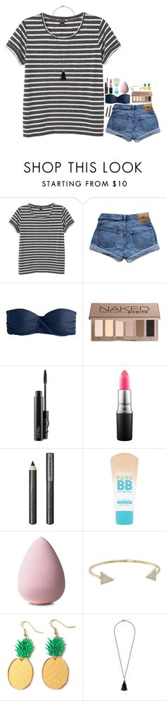 """Happy Memorial Day "" by rachiepoo13 ❤ liked on Polyvore featuring Monki, Abercrombie & Fitch, J.Crew, Urban Decay, MAC Cosmetics, Burberry, Maybelline, Michael Kors, Lauren Ralph Lauren and happymemorialday"