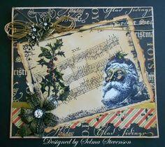 Vintage Santa on Webster Pages