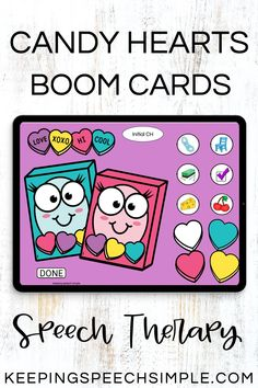 Engage your preschool, kindergarten and elementary students during your speech sessions with this Valentine's Day digital activity. Target a variety or speech sounds in all word positions, including Vocalic R, R blends, S blends and L blends. All speech targets are picture supported. Use this effective lesson during distance learning, teletherapy and in person speech sessions. You can also target seasonal vocabulary and quantity concepts. This is a fun and easy, no prep speech therapy activity!