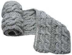 Cómo tejer una bufanda con trenzas reversibles en dos agujas