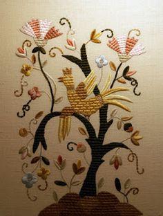 árvore com pássaro
