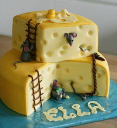 Muisjes in de kaas taart