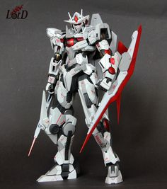 GUNDAM GUY: MG 1/100 00 Qan[T] - Custom Build