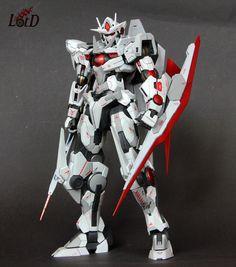 GUNDAM GUY: MG 1/100 00 Qan[T] - Custom Build