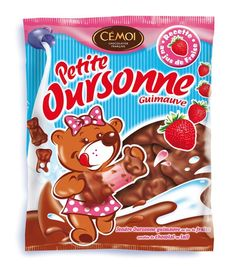 Marshmallow bears - with strawberry-flavored Marshmallow! - Cemoi