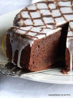 grain de sel - salzkorn: gezierter Gewürzkuchen mit Kakao